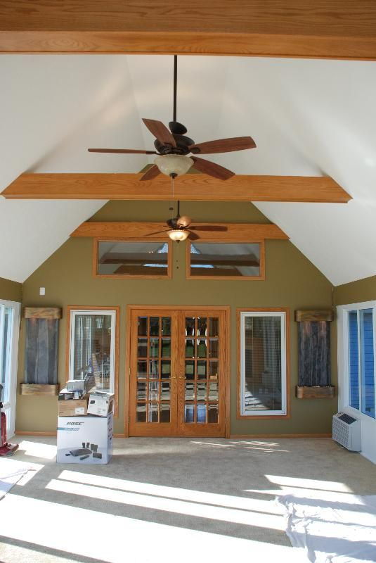 Picture 8 The Inside Is Spectacular With All The Finishing Details In This Year Round Sunroom Tavan