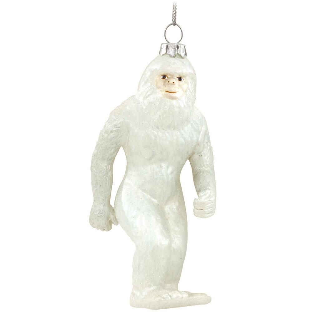 Abominable Snowman Glass Ornament Snowman Christmas Tree Glass Christmas Tree Ornaments Ornaments