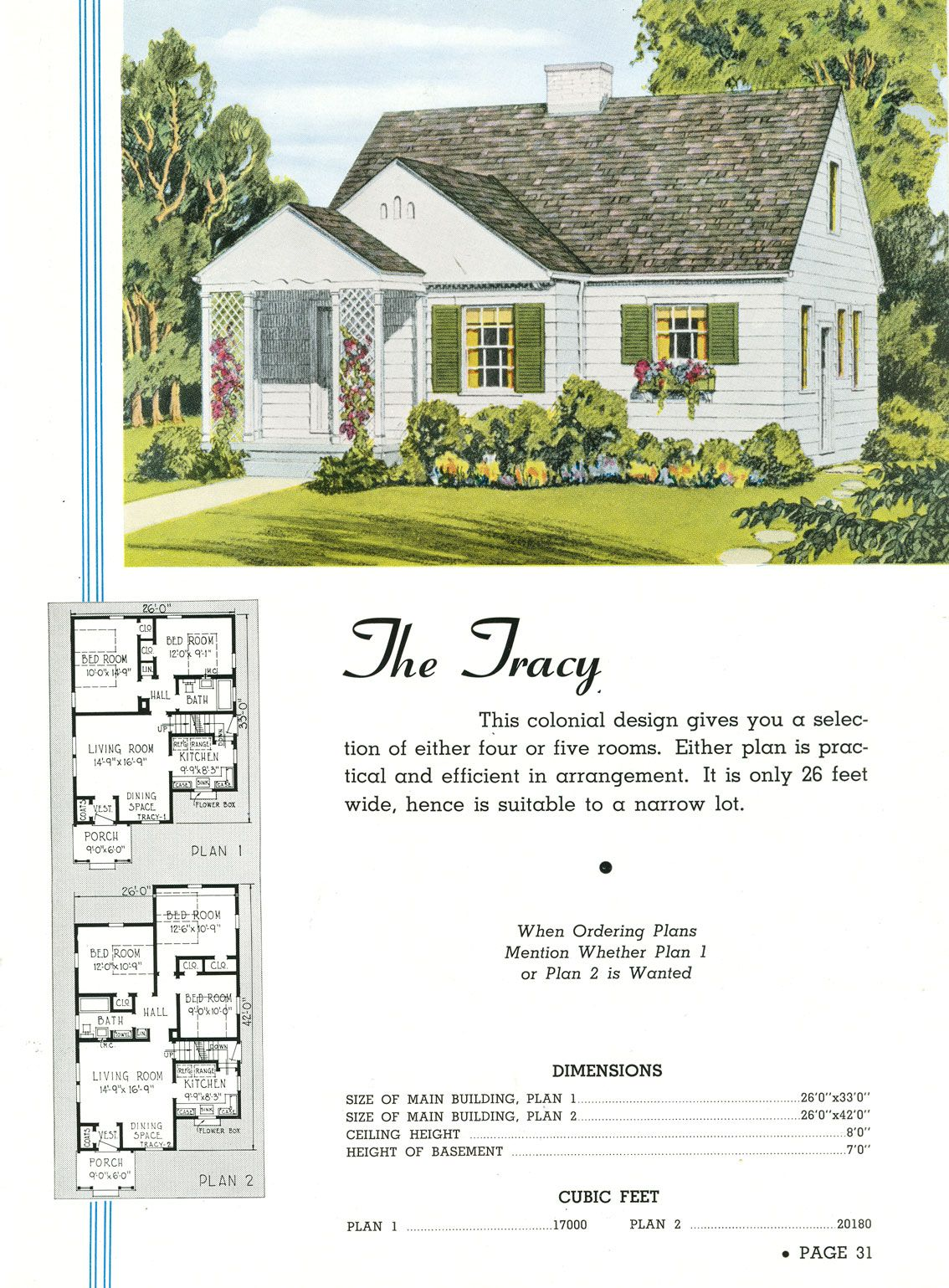 When I Was Growing Up We Lived In A Traditional Two Story House Built In The 1920s Where You Walked Vintage House Plans Small House Plans Home Garden Design
