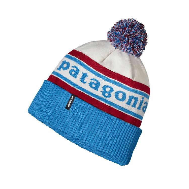 9fe27deeacb Patagonia Powder Town Beanie - Park Stripe  Classic Red PCSR