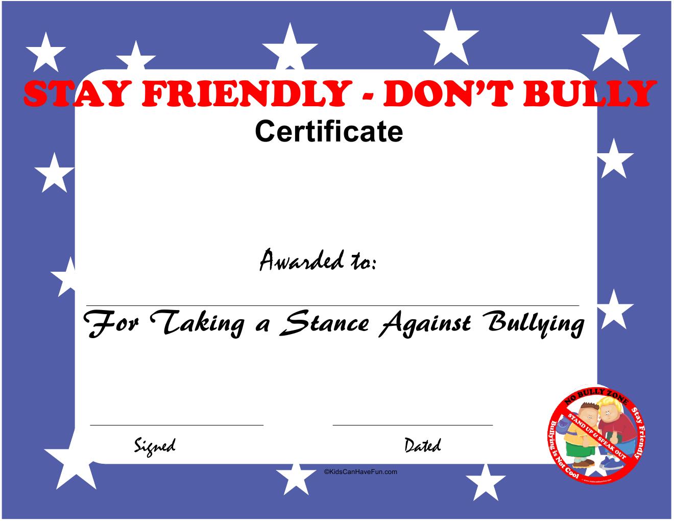 Stay Friendly