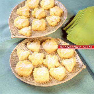 Receita de Petit-four de coco