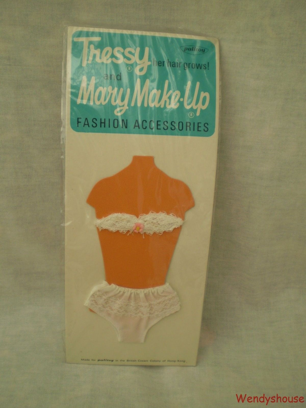 VINTAGE PALITOY TRESSY/MARY MAKE-UP DOLL CARDED UNDERWEAR MOC- FREE UK P & P #4 | 14.99