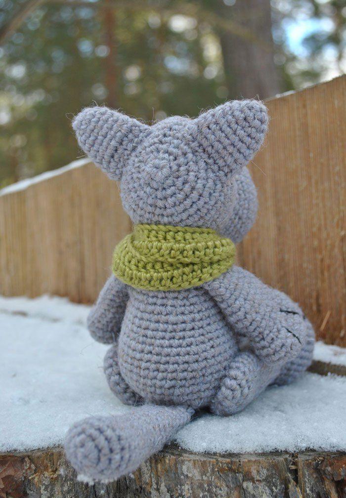 Crochet wolf amigurumi pattern gratis | Patrones amigurumi ...