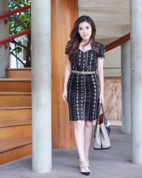 Baju Batik Pesta Terbaru 2017 Hijab In 2019 Dresses Shirt Dress