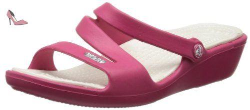 Crocs - Patricia Women's Footwear, EUR: 42.5, Raspberry/Oyster