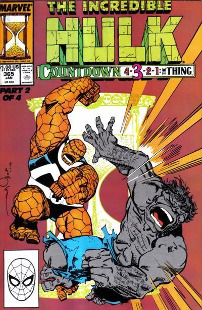 Incredible Hulk # 365 by Walter Simonson