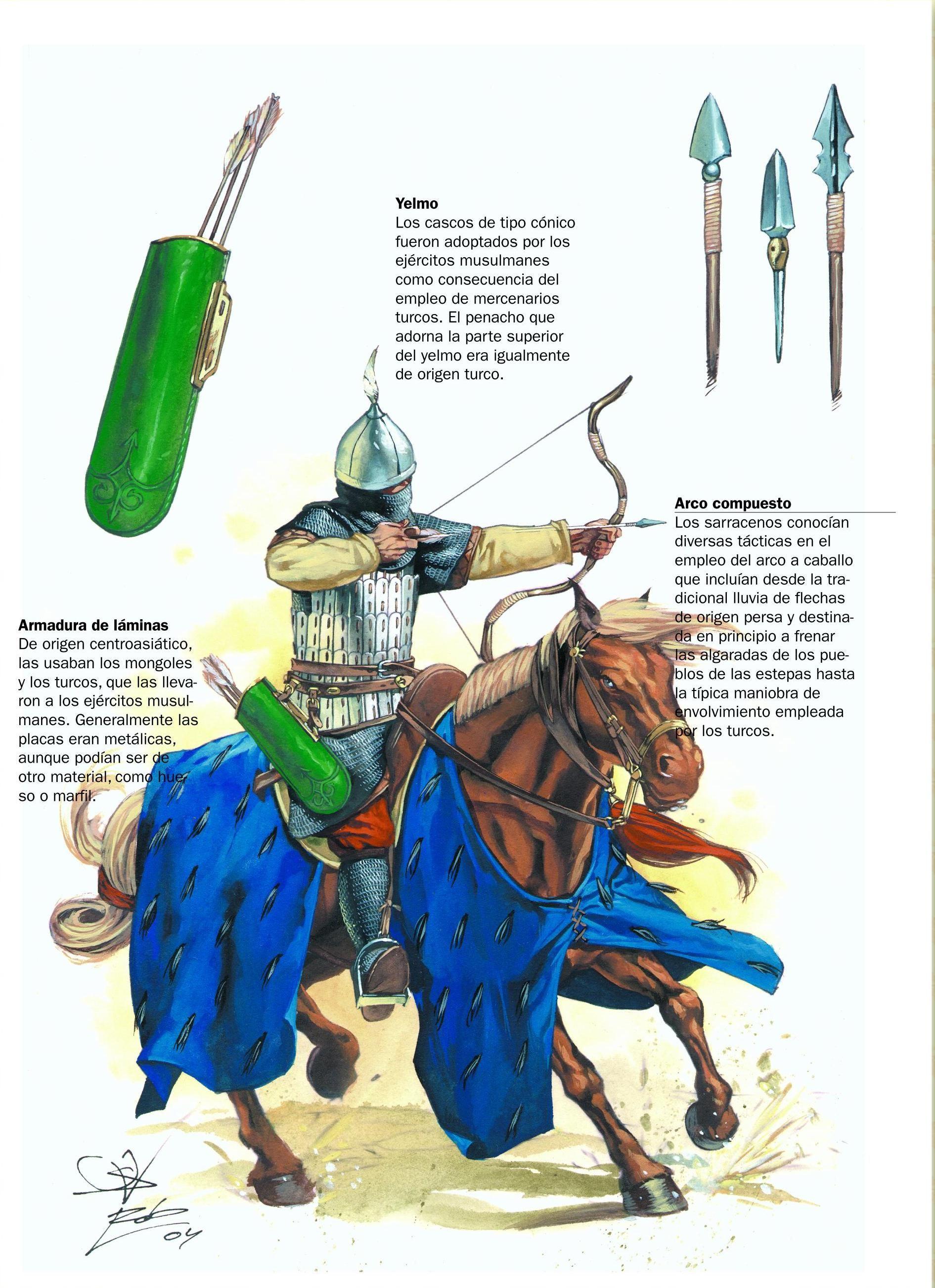 1100 1199 Saracen archer XII c Armor