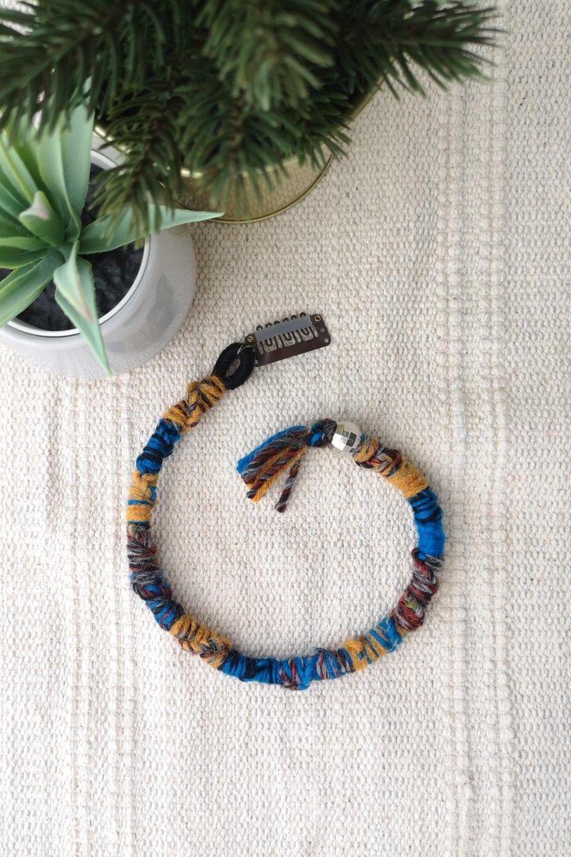 Extension Colorate Per Bambini dreadlock con clip, dreadlock in lana fatto a mano, treccia