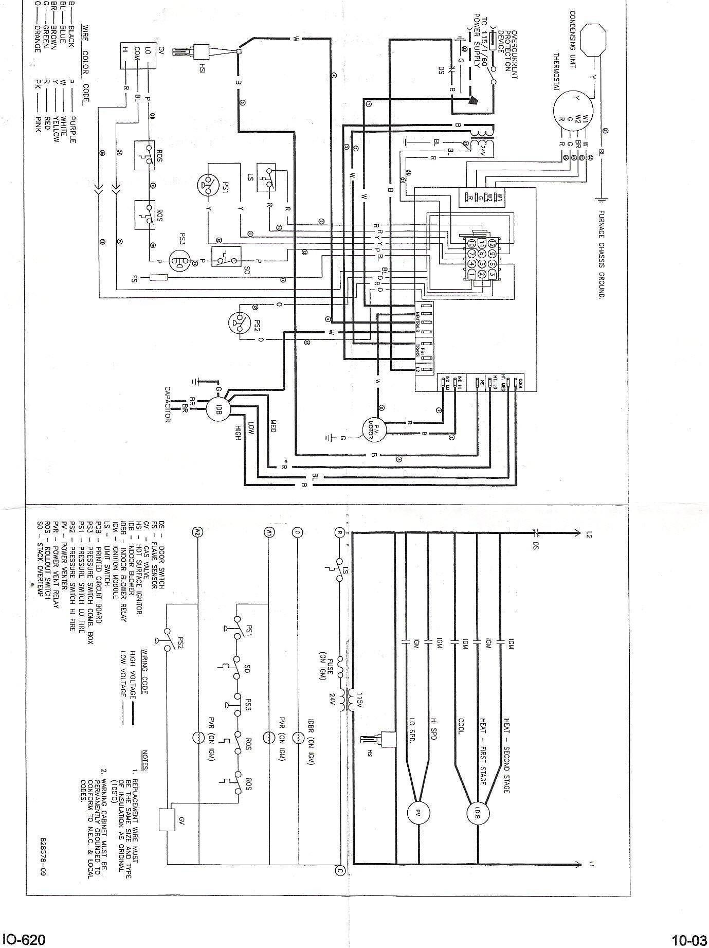 New Bryant Gas Furnace Wiring Diagram diagram