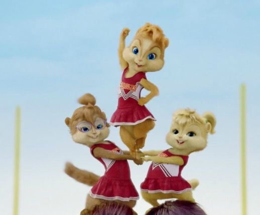 Chipettes Are Cheerleaders With Images The Chipettes Alvin