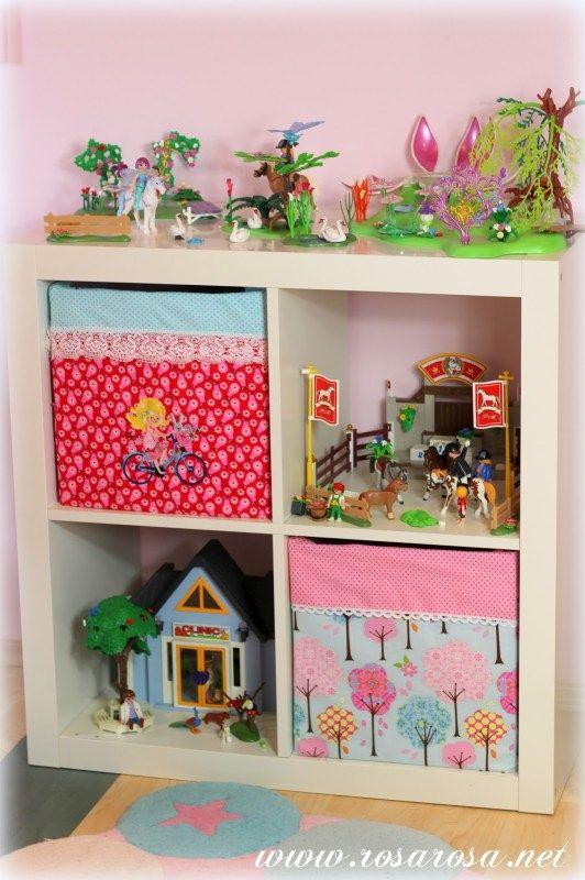 Kistenbezug DIY Aufbewahrung kinderzimmer, Kinderzimmer