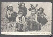 Boeroe Buru Singing Natives Moluccas Indonesia ca 1906