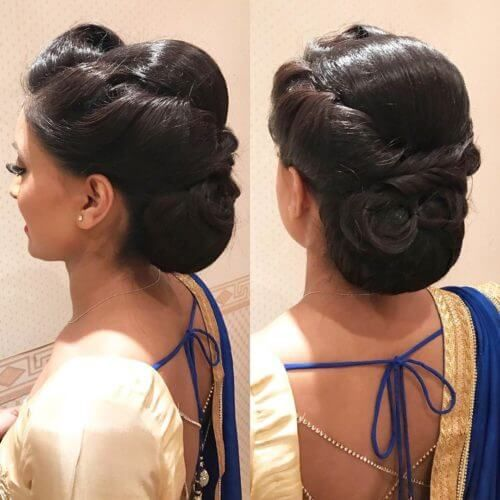Simple Juda Hairstyle For Wedding: 12 Stunning Hair Buns And Judas To Wear With Sarees