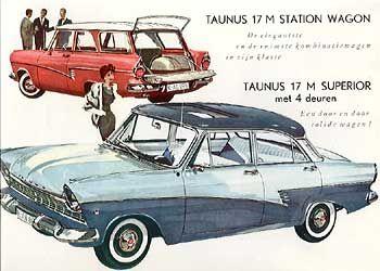 Ford Taunus 1960 Ford Deutschland Oldtimer Ford