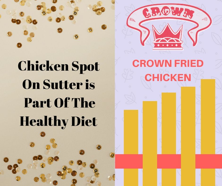 can fried chicken from the chicken spot on sutter be part of the healthy diet chicken spot fried chicken healthy pinterest