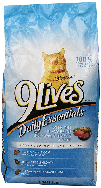 9 Lives 6.3 Lb Daily Essentials Cat Food > Startling
