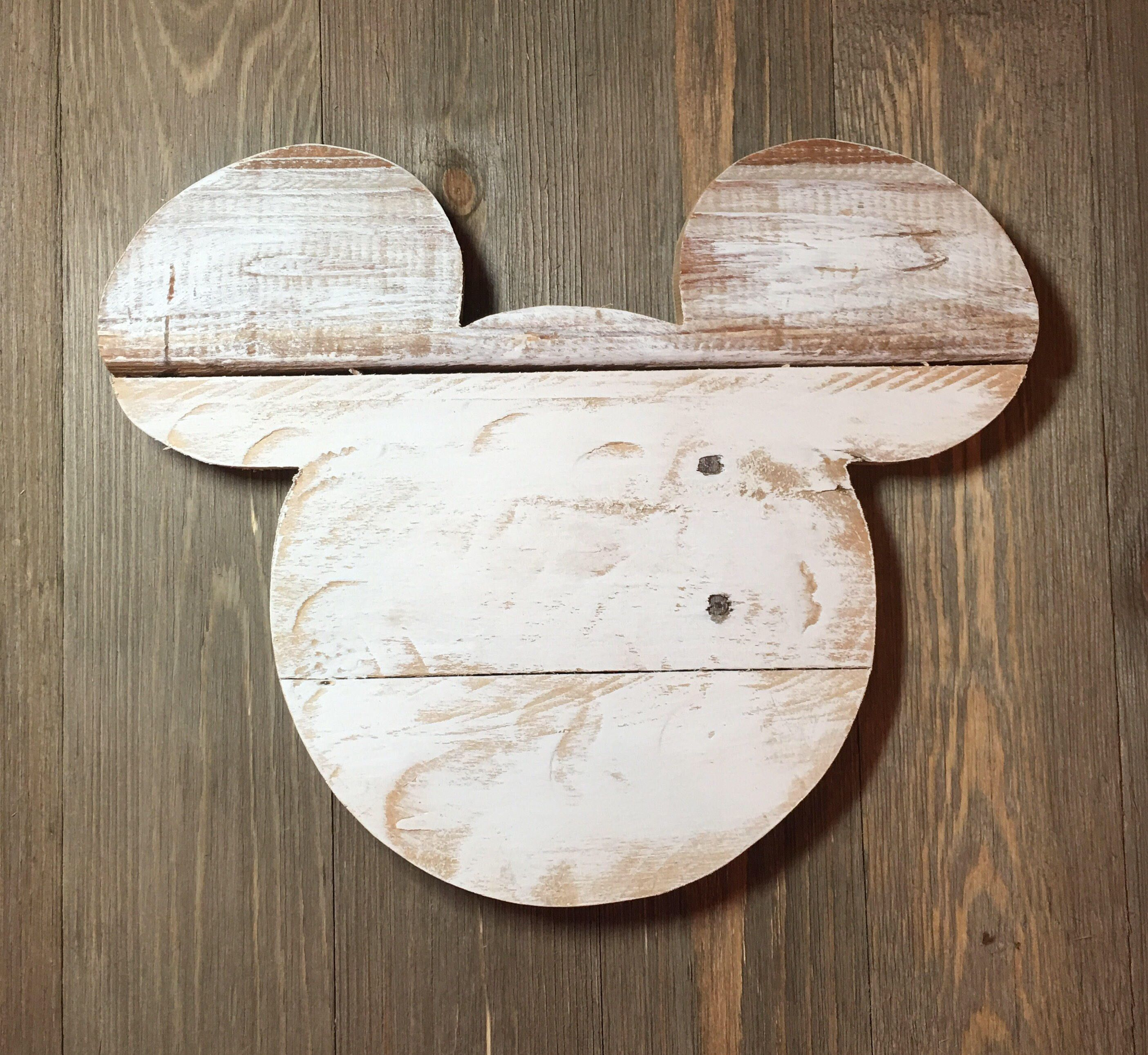 Disney Sign Disney Home Decor Mickey Mouse Farmhouse Wall