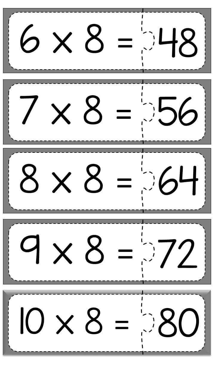carpma-islemi-puzzle-calismasi-13 | Evimin Altın Topu | Tablas de ...