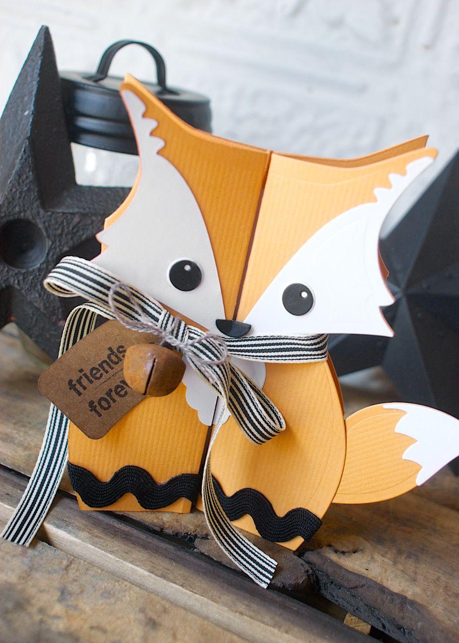Fox Fold A Long Card A Fun Foxy Diy Paper Crafts Pinterest