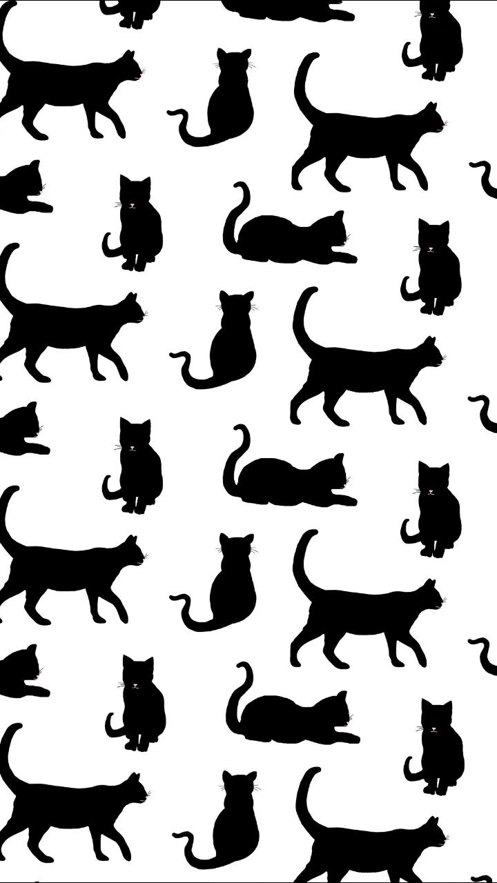 Pattern On We Heart It Gatinho Desenho Estampas Infantis Gatos