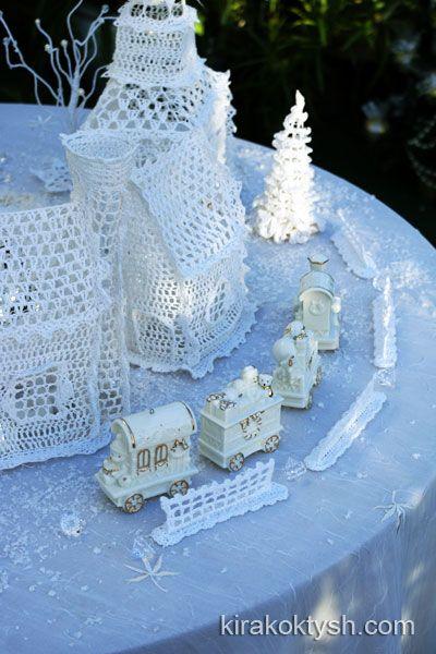Crochet Christmas Village 2008 by kirakoktysh.com
