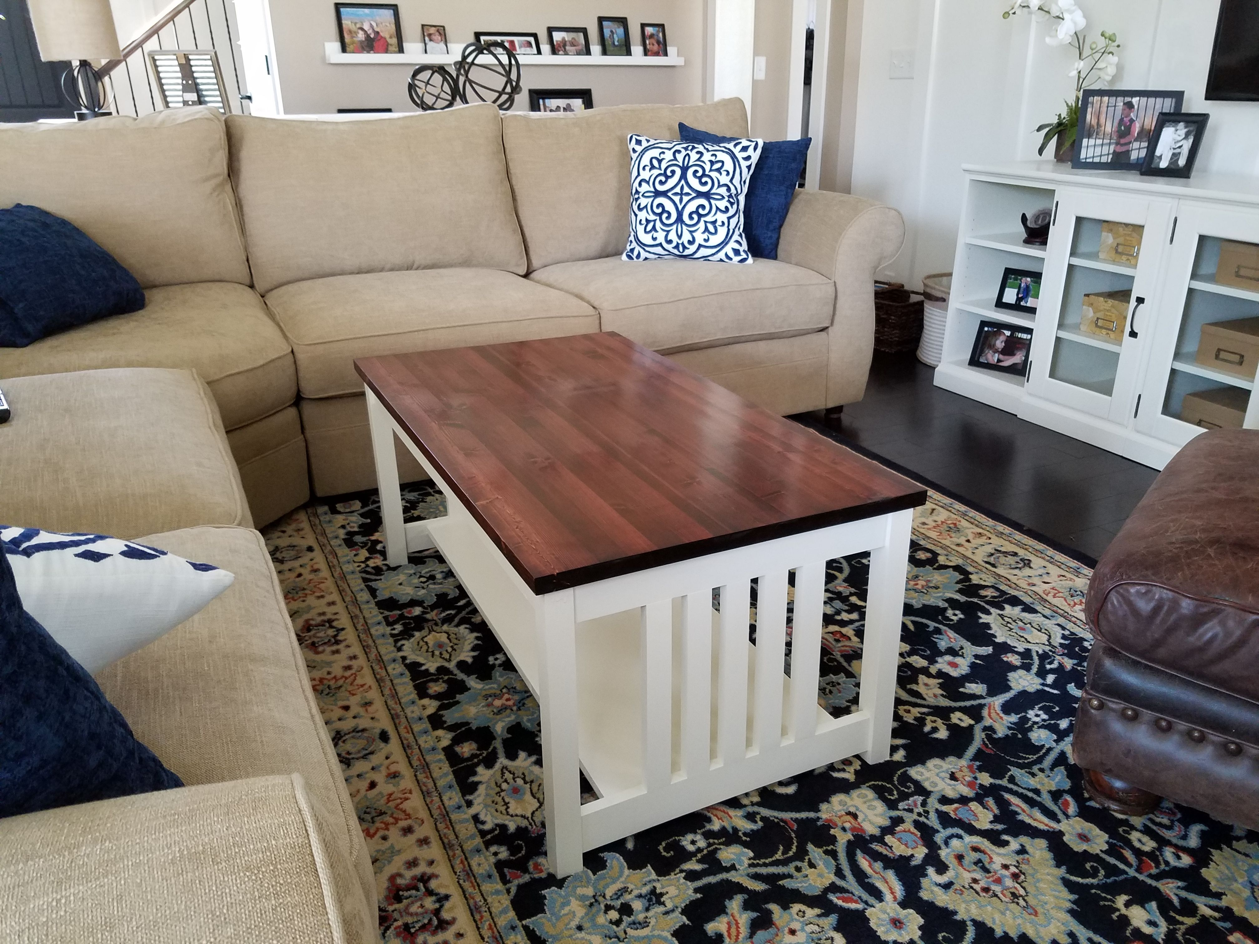 - I Made Furniture! Shaker/Craftsman Style Coffee Table - Resubmit