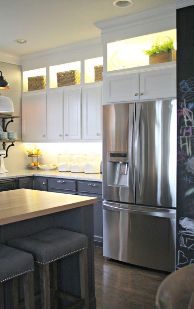 34 DIY-Ideen für Küchenschränke   Küchenschränke, Diy ideen und Ideen