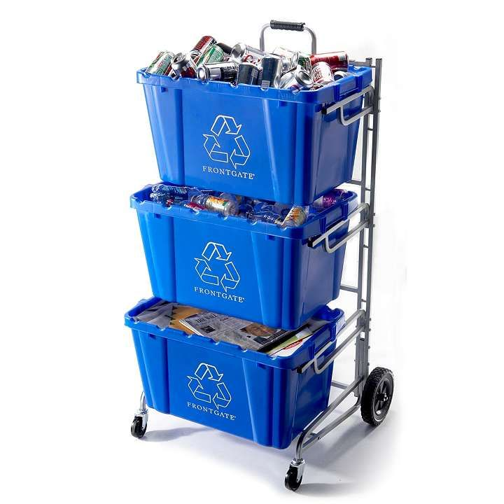 Recycle Bins For Home Recycling Bin Cartfor Laundry  Might Need This Pinterest