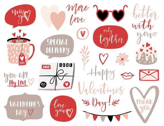 Valentine S Day Clipart Overlays Love Heart Etsy Valentines Day Clipart Valentine Clipart Valentine Stickers