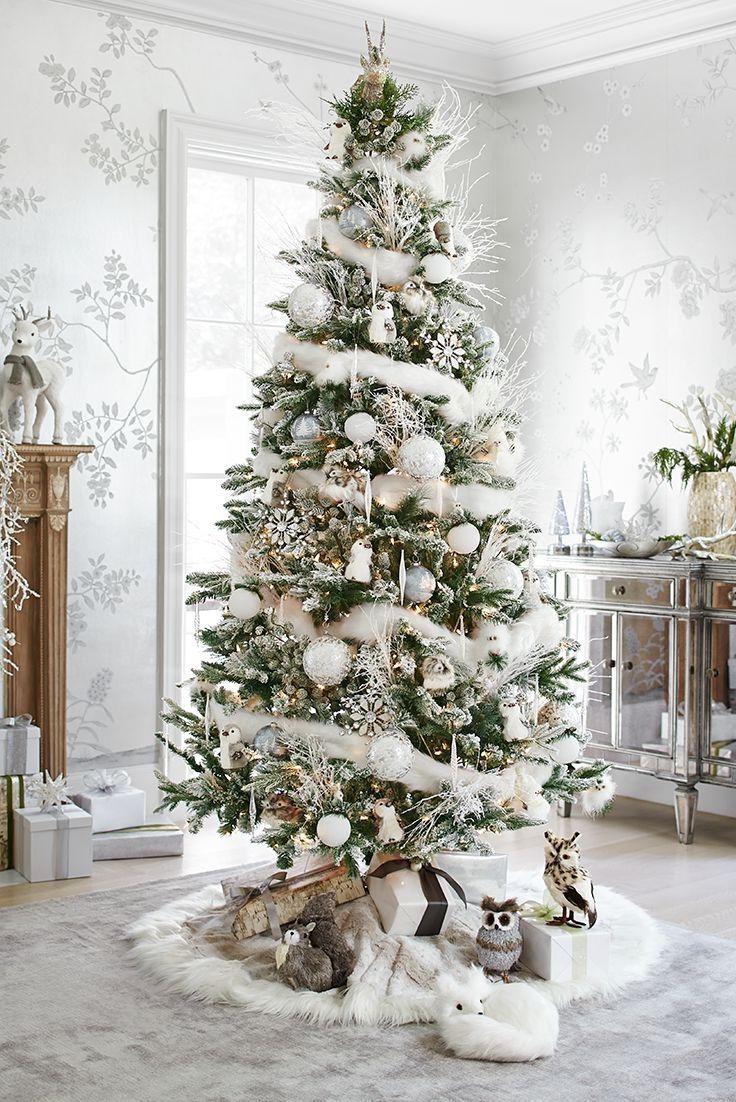 Fantastic White Christmas Tree Decorations | Interior | Pinterest ...
