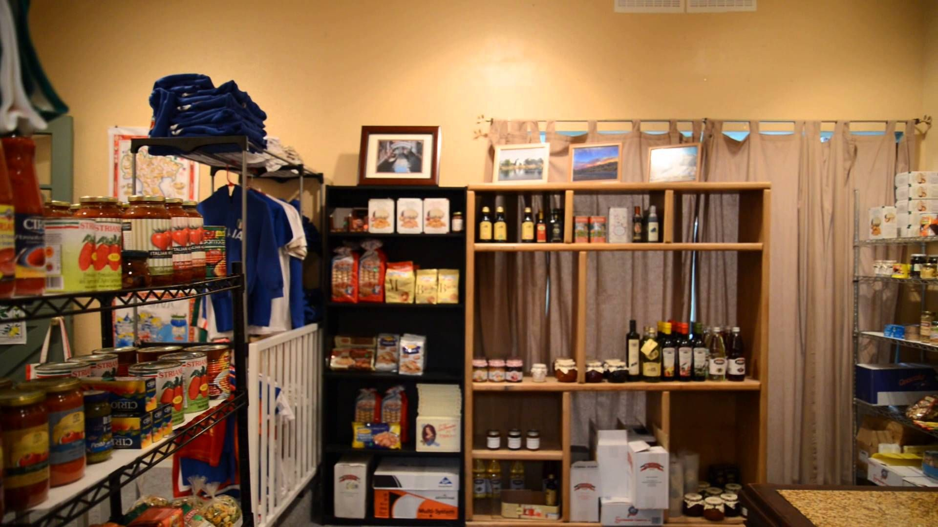 Bella Italia store in Reno, NV. This is our store, we're located at 606 W. Plumb lane suite 4, inside the Arlington Gardens Mall