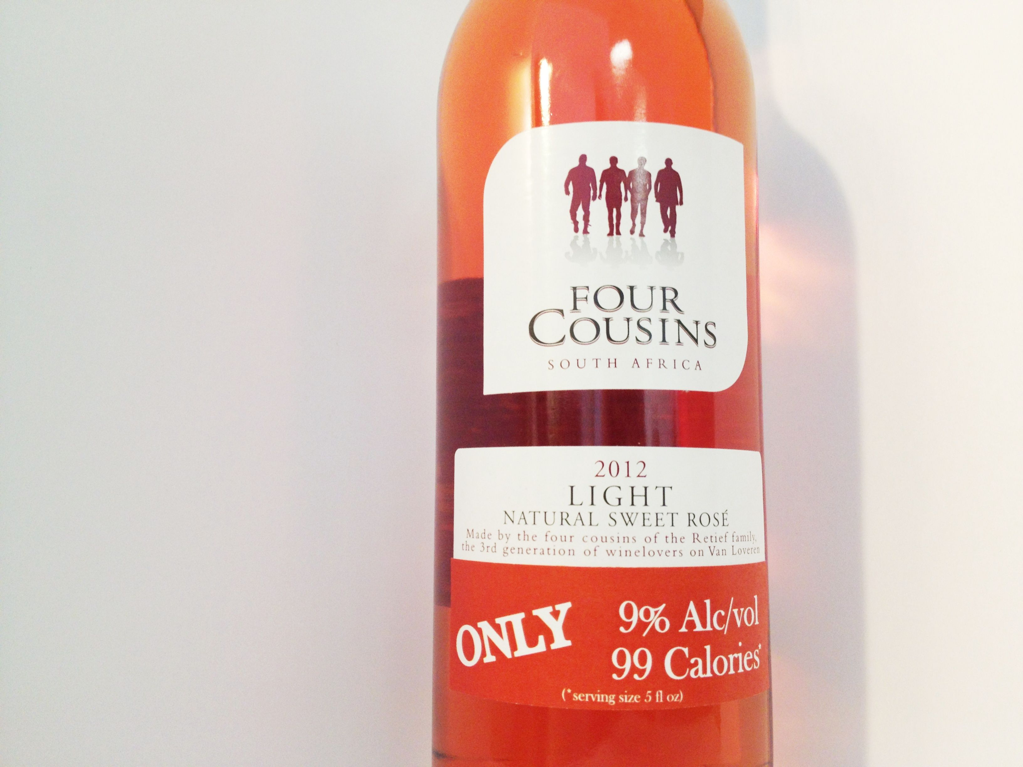 Four Cousins Sweet Rose Wine Bottle Rose Rose Wine Bottle