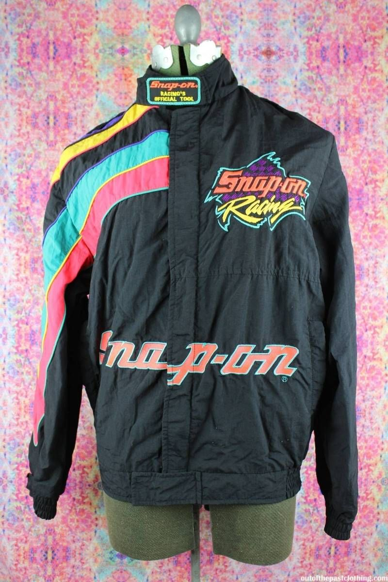 d8ee6e8e Snap On Racing Molson Indy Toronto Vancouver 1993 Vintage Jacket ...