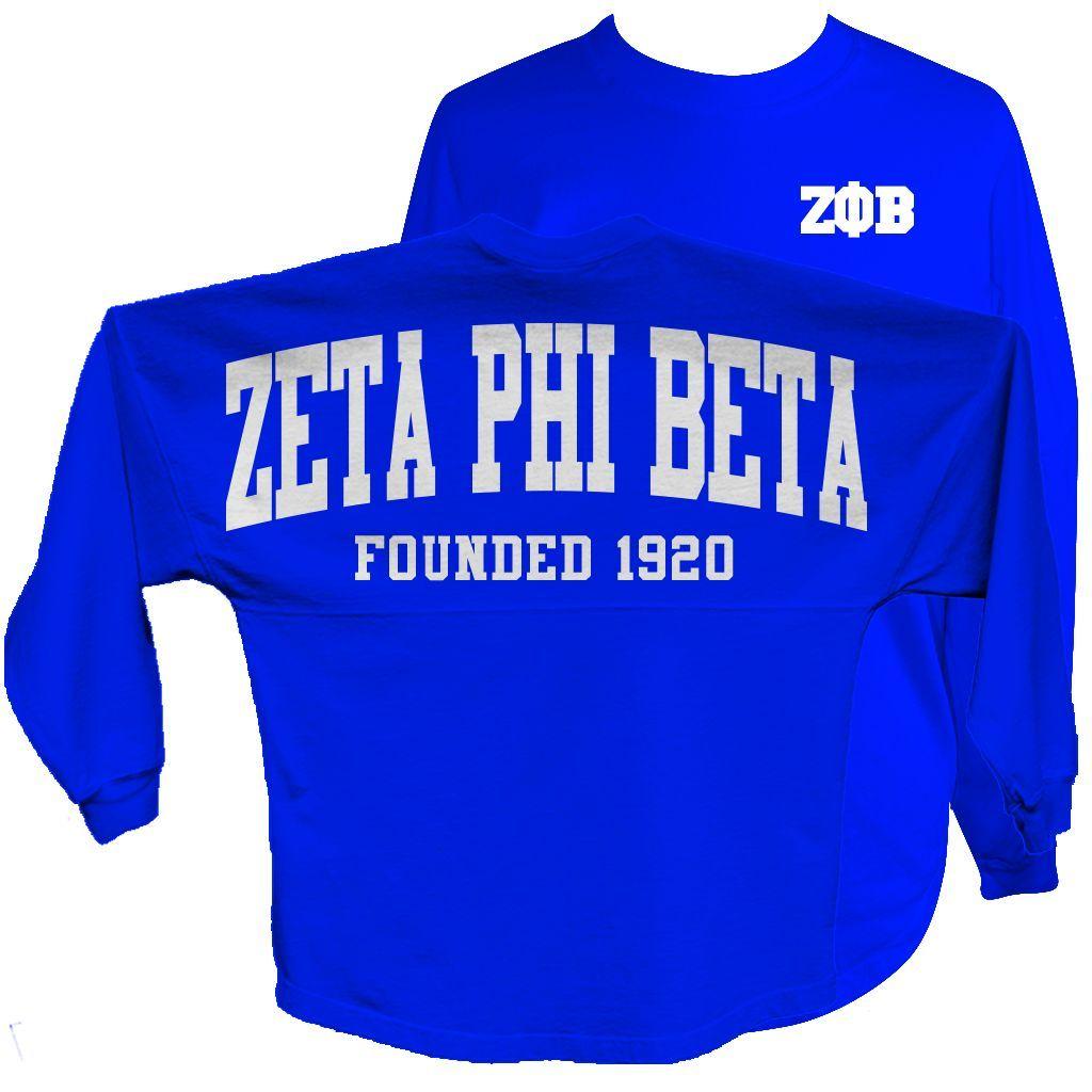 Blue apron beta - Zeta Phi Beta Spirit Jersey Blue