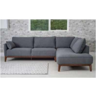 M P Lladnek Corner Sofa Dark Grey Modern Sofa Living Room Grey Corner Sofa Corner Sofa Dark Grey