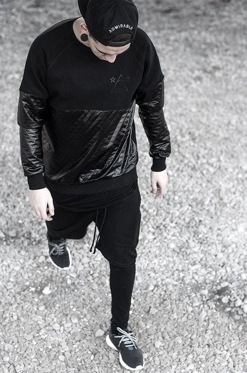 Nike Roshe Courir Vêtements Pour Hommes Noir