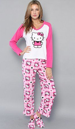 cff827c14 Pajamas, Pjs, Hello Kitty, Pajama Pants, Girls Wear, Fashion, Sleep