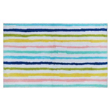 Cool Stripe Bath Rug Molokai Blue  Pillowfort™ At Target Adorable Target Bathroom Rugs 2018