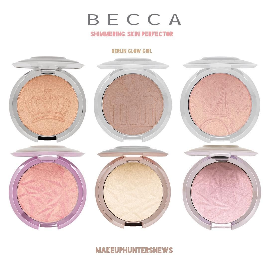 Becca X Hatice Schmidt Berlin Girl Glow Available Now In The States Beautylish Beautyli Becca Shimmering Skin Perfector Makeup Brands Becca