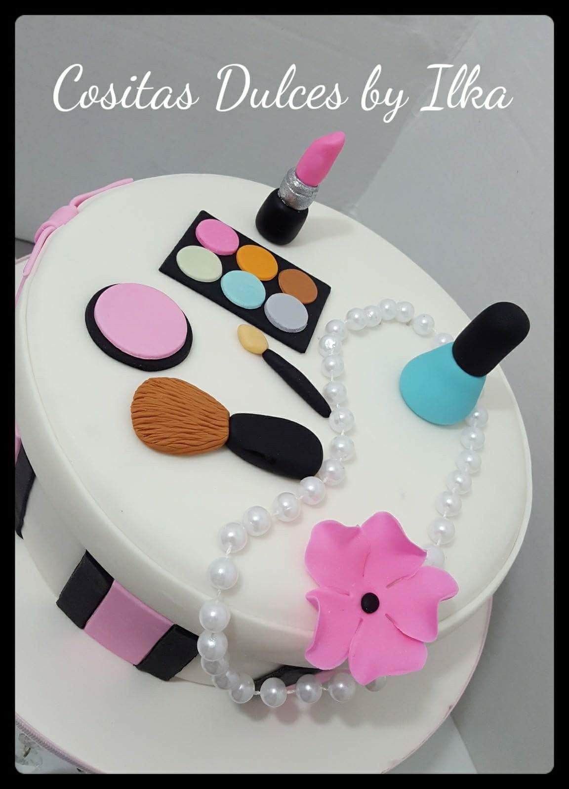 Makeup Cake Makeup Lover Cake Make Up Cake Cake Dulce