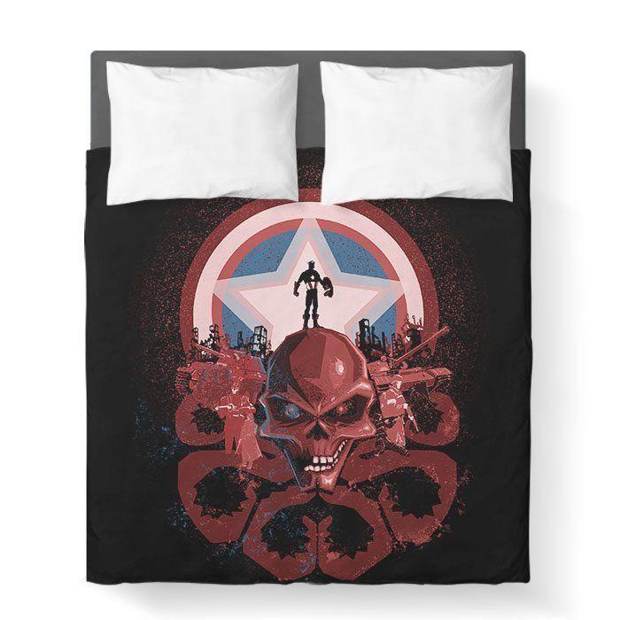 Captain Nightmare - Duvet Cover