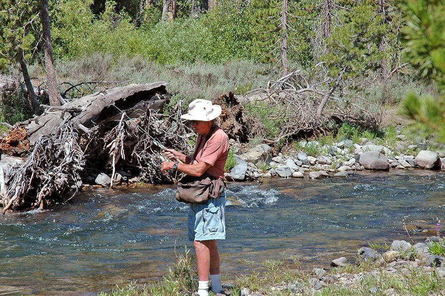 Freshwater fishing the mammoth lakes area the san