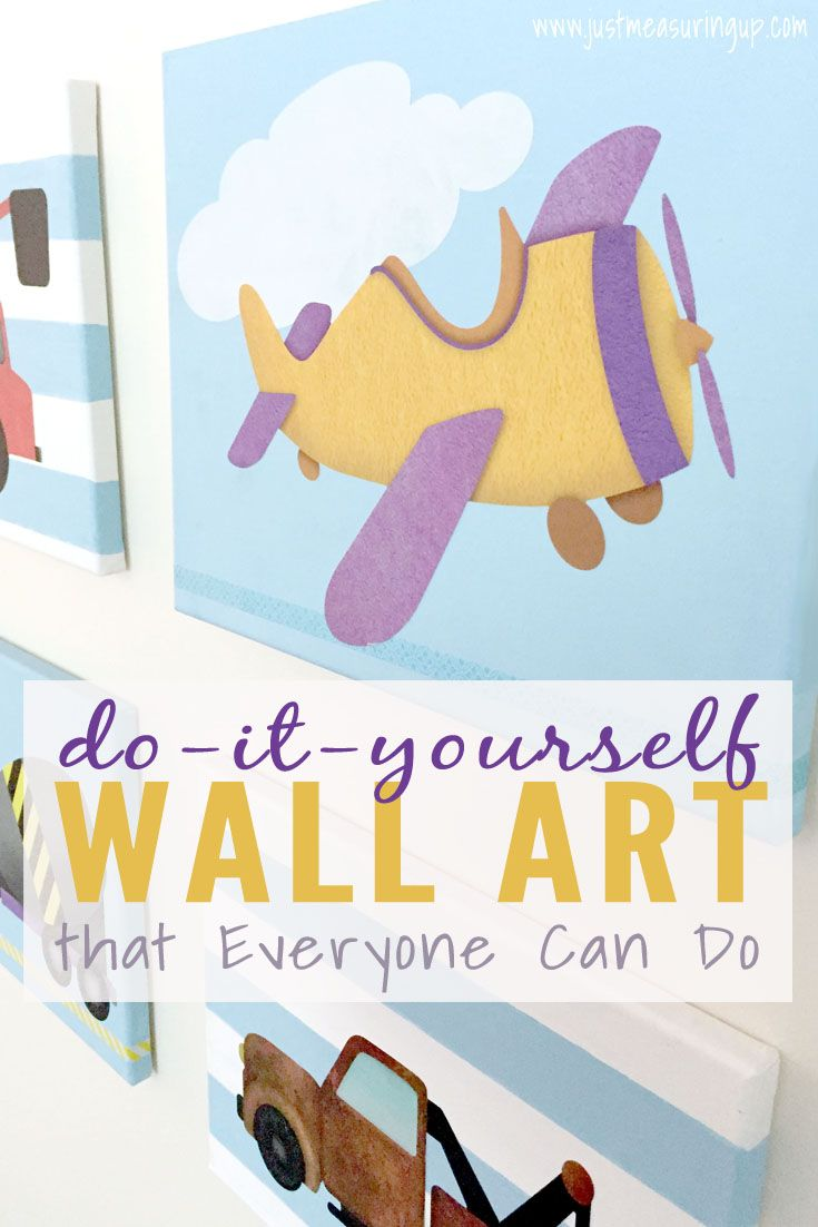 Diy wall art for kids rooms that everyone can make diy wall art