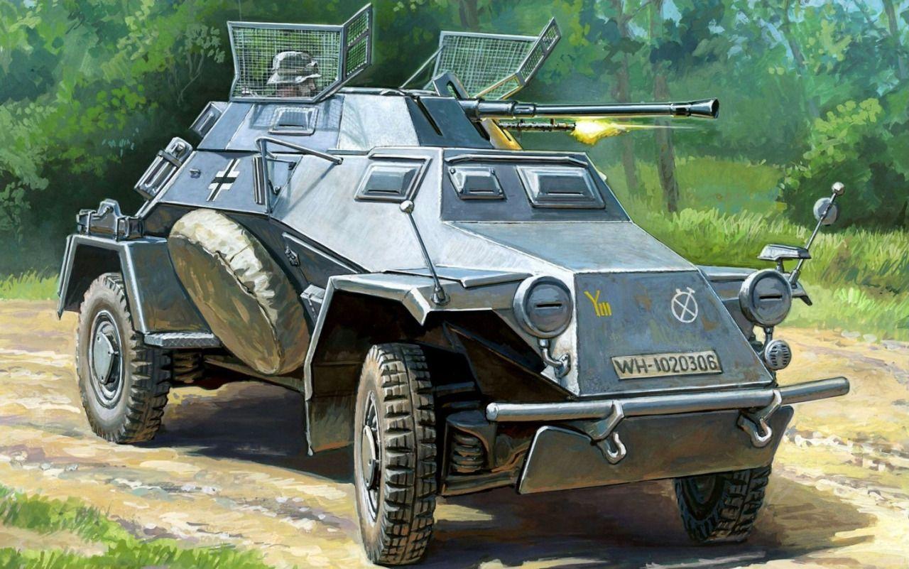 Google themes zvezda - 1941 Sd Kfz 222 Leichter Panzersp Hwagen 10 Panzer Division Andrey Zhirnov Box
