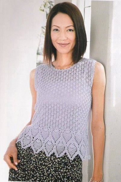 Crochet Spring Shirt And Tunic Make Handmade Crochet Craft