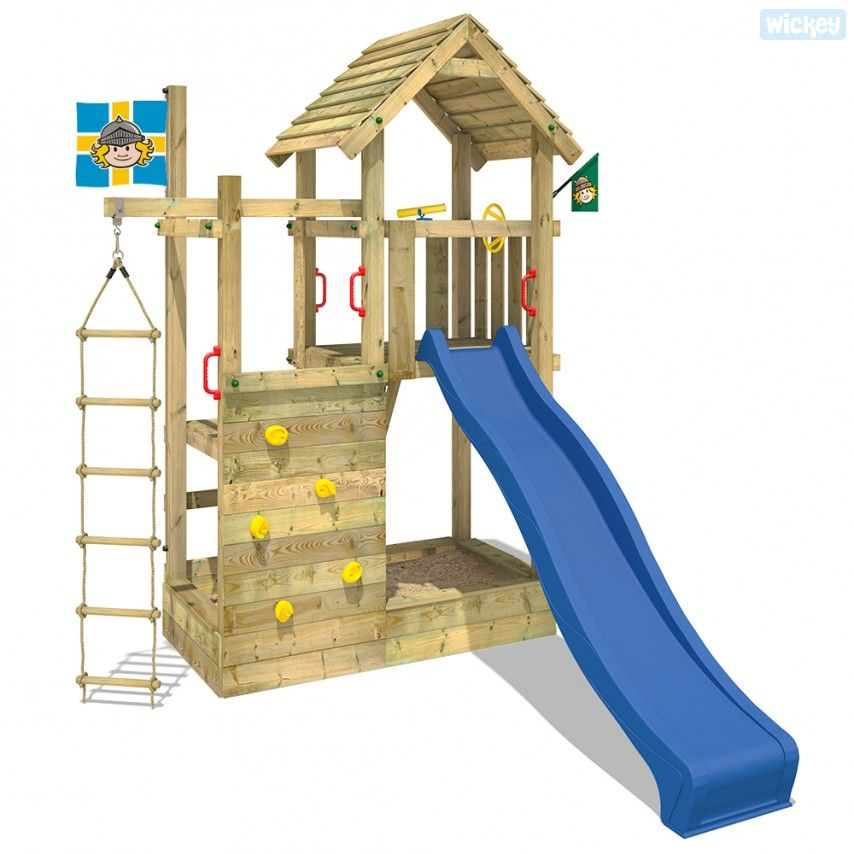 Spielturm Arthur S Multitower Mit Kletteranbau Wickey Ch Spielturm Spielhaus Spiele
