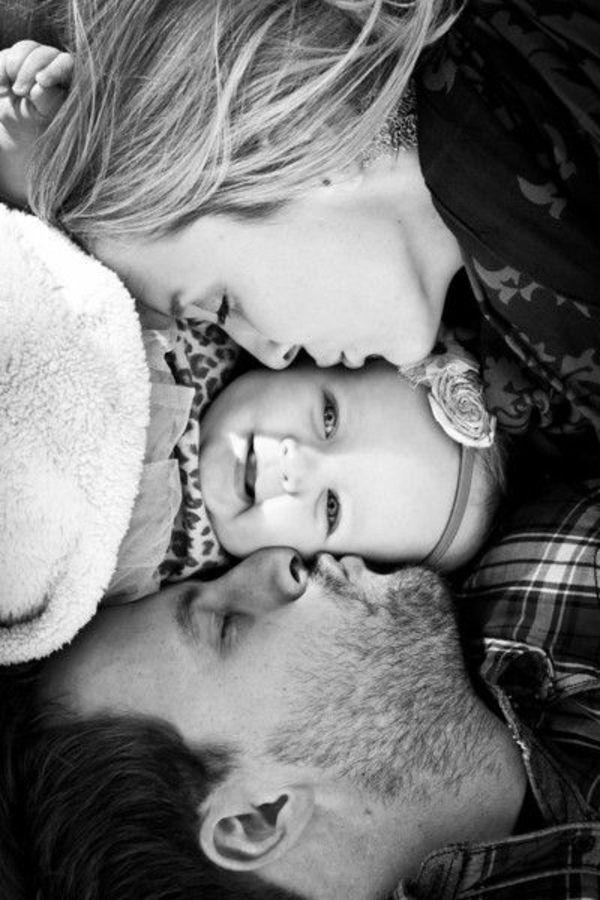 Baby und Familie: 46 Bilder zum Inspirieren! #father