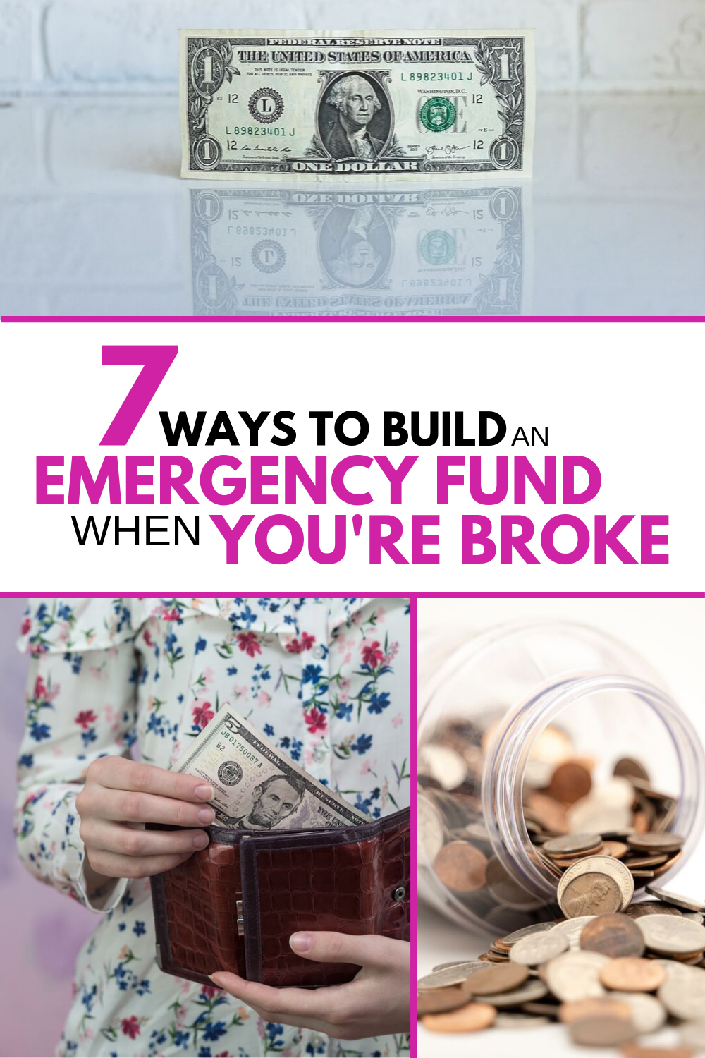 7 Steps To Build Your Emergency Fund On A Low Income Emergency Fund Saving Money Budget Money Saving Plan