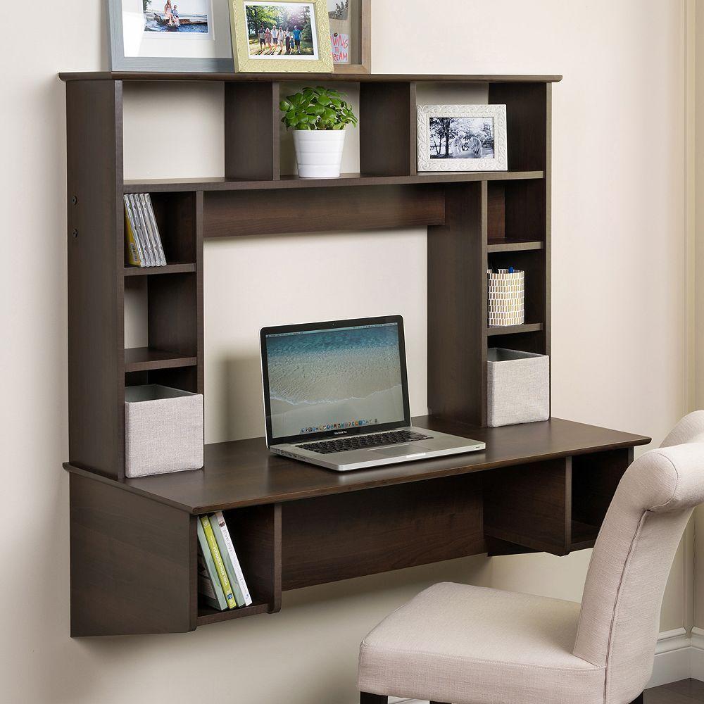 Prepac Floating Desk Home Office Furniture Floating Desk Home